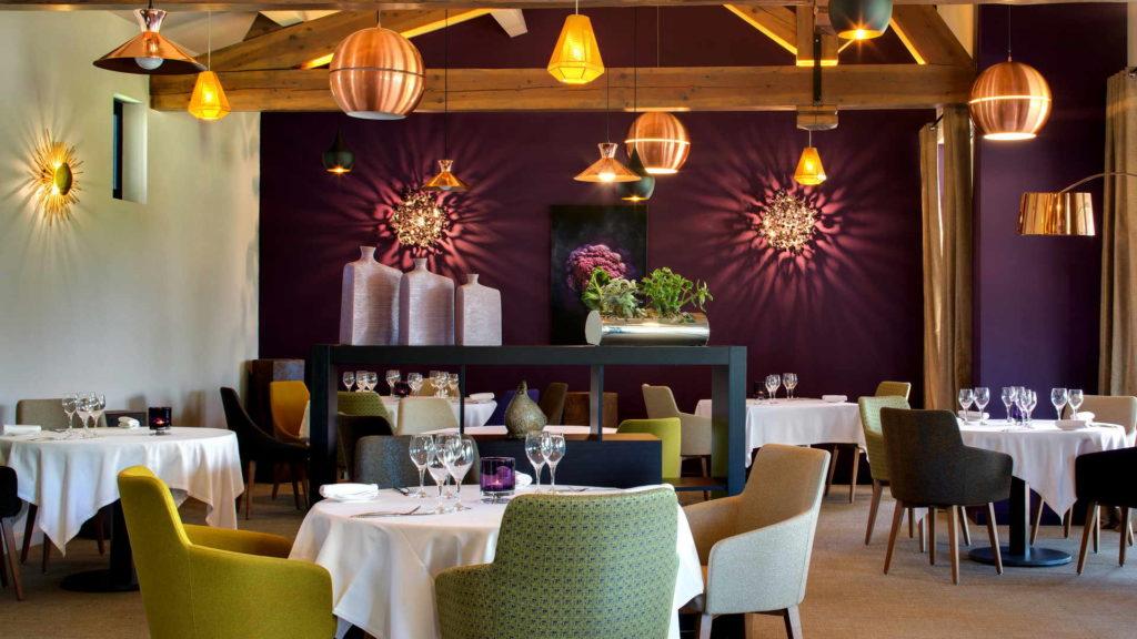 salle de restaurant, restaurant gastronomique, Le Pré Gourmand
