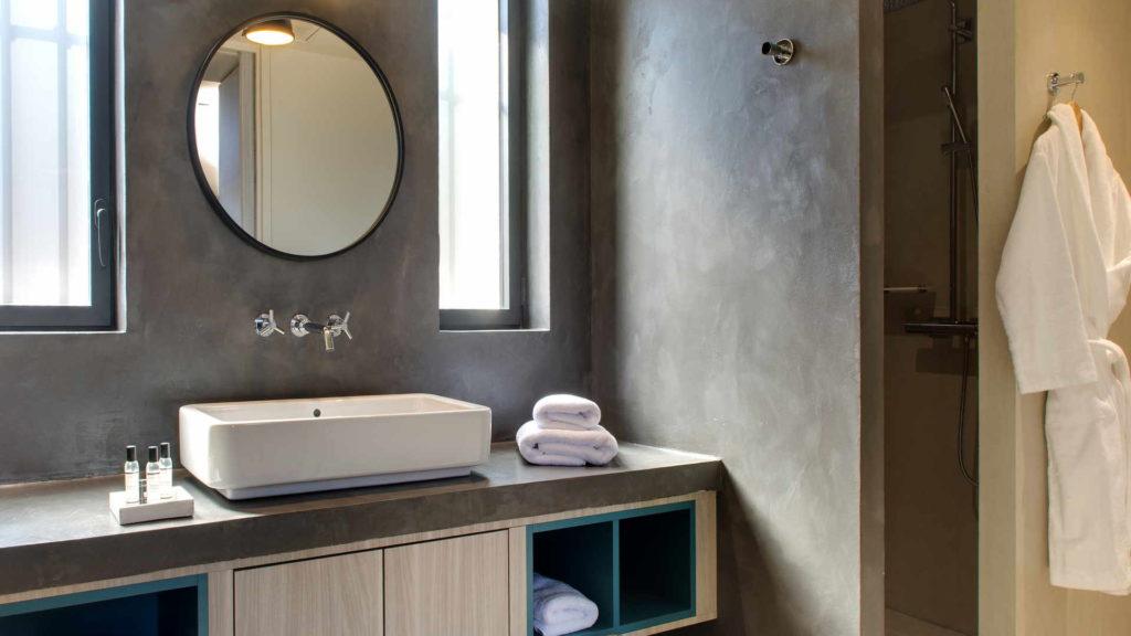 salle de bain, gite de charme provence, le pre gourmand